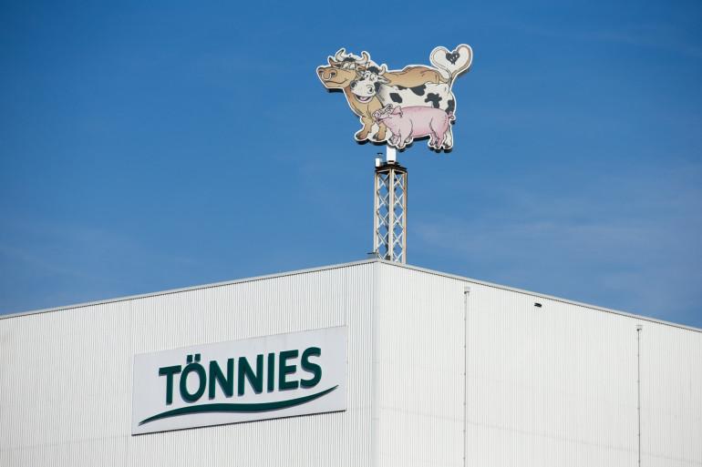 Une usine de production du géant allemand de l'industrie alimentaire Toennies Lebensmittel à Rheda-Wiedenbrueck (Photo d'illustration).