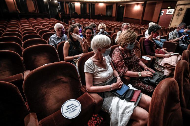 Le théâtre Antoine à Paris, le 22 juin 2020