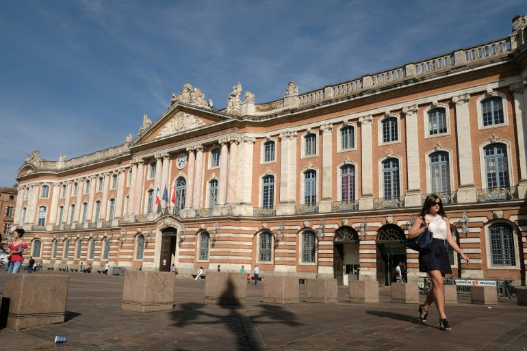 L'hôtel de ville de Toulouse, le capitole (illustration)