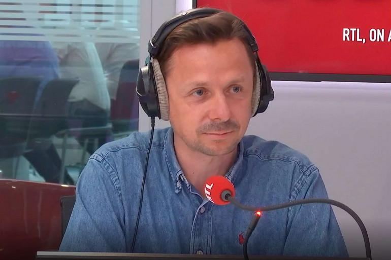 Le DJ français Martin Solveig, invité sur RTL mercredi 24 juin 2020.