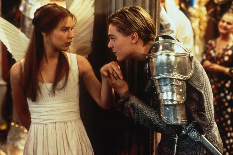 """Claire Danes et Leonardo DiCaprio dans """"Roméo + Juliette"""""""