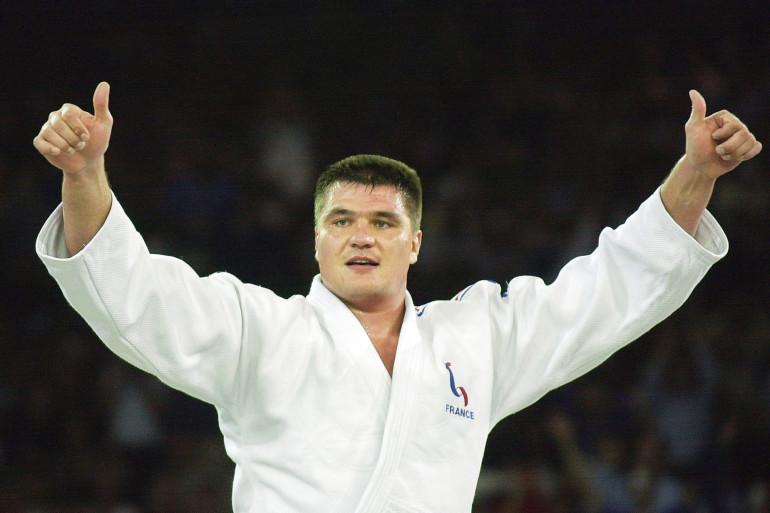 David Douillet à Sydney le 22 septembre 2000