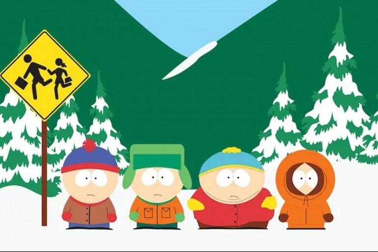"""Les héros de """"South Park"""""""