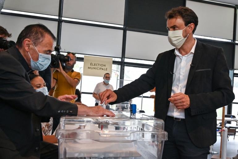 Grégory Doucet est le candidat EELV pour l'élection municipale de Lyon,