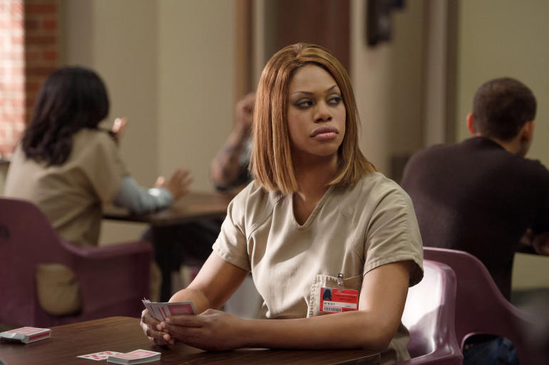 """Le personnage de Sophia Burset dans """"Orange Is The New Black"""" est une femme transgenre"""