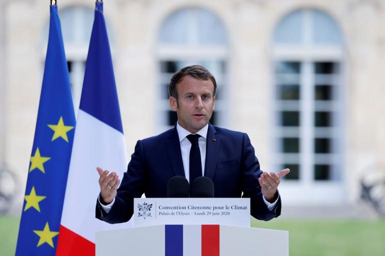 Emmanuel Macron, le 29 juin 2020 à l'Élysée