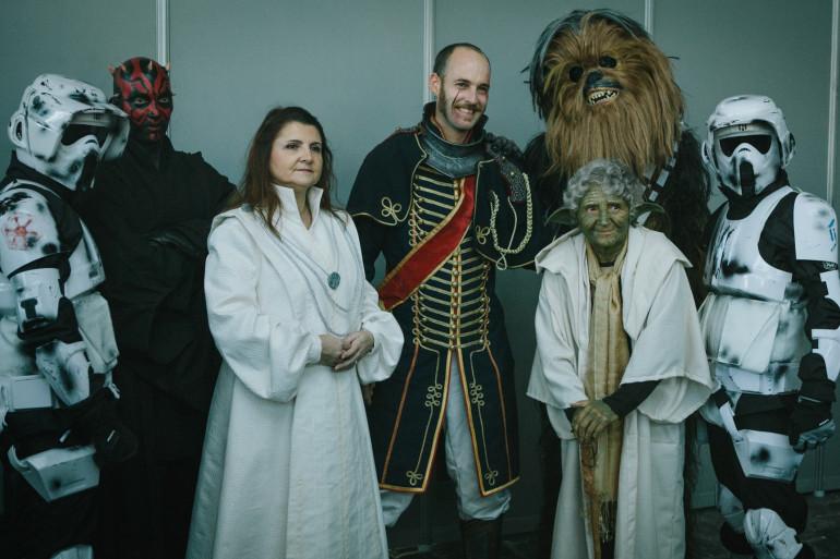 Des cosplayers à la Comic Con Paris 2016