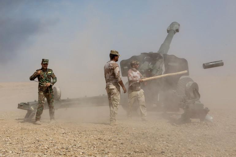 L'armée irakienne à Mossoul (image d'illustration)