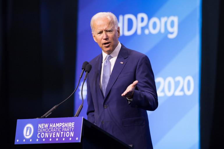 Le démocrate Joe Biden annonce qu'il  n'y aura pas de meeting avant l'élection présidentielle pour cause de coronavirus