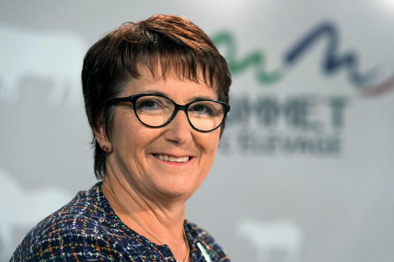 Christiane Lambert a été réélue à la tête de la FNSEA le 1er juillet 2020