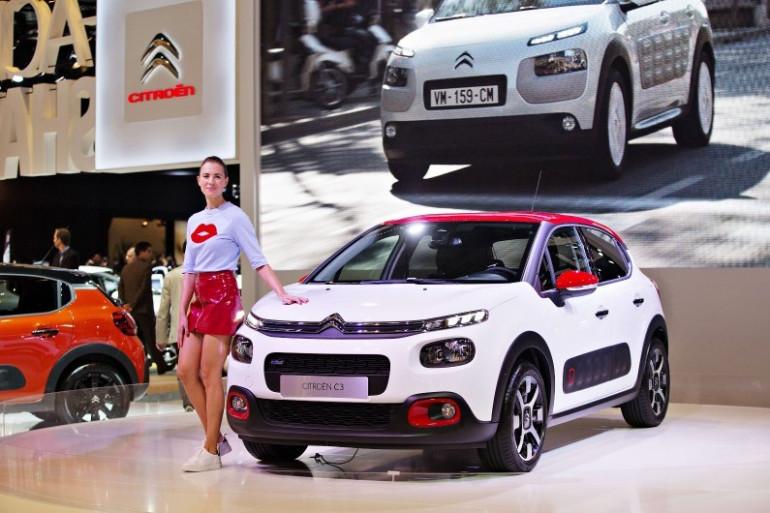 La nouvelle C3 de Citroën au Mondial de l'Auto de Paris 2016