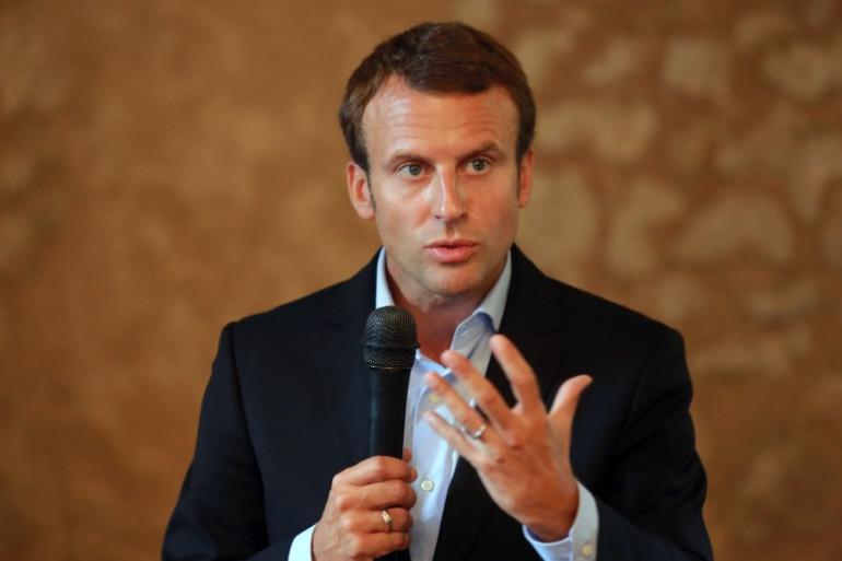 L'ancien ministre de l'Économie Emmanuel Macron
