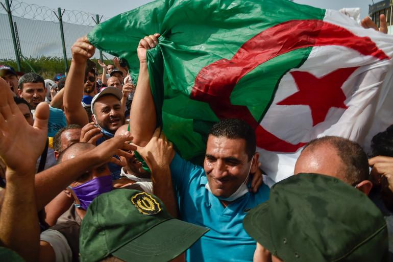 Karim Tabbou, militant du Hirak, a été libéré par la justice algérienne le 2 juillet 2020