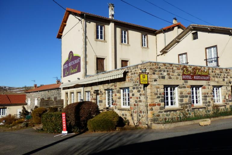 L'hôtel-restaurant le Foirail en Haute-Loire