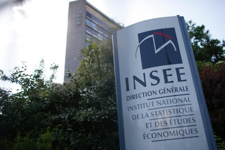 Une vue du siège de l'Insee, à Paris