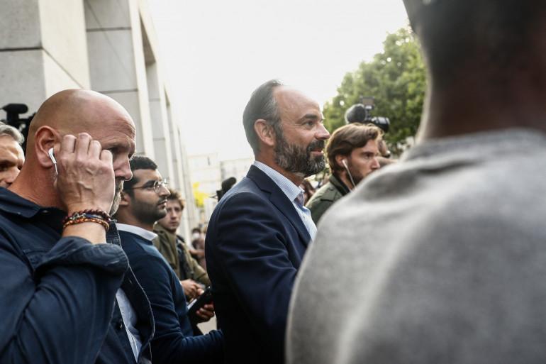 Édouard Philippe après sa réélection à la mairie du Havre le 28 juin 2020.
