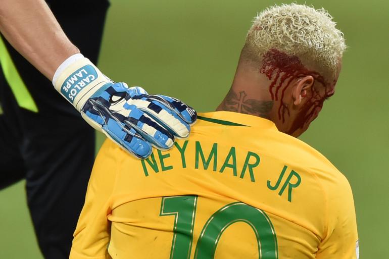 Neymar face à la Bolivie le 6 octobre 2016