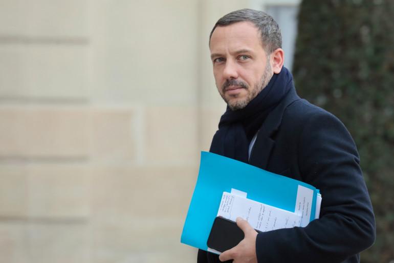 Adrien Taquet, secrétaire d'État à la protection de l'enfance