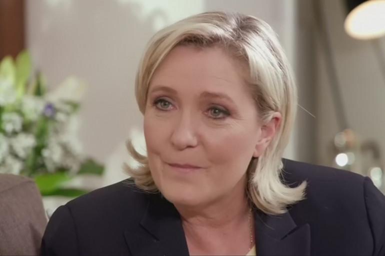 """Marine Le Pen dans """"Une Ambition intime"""""""