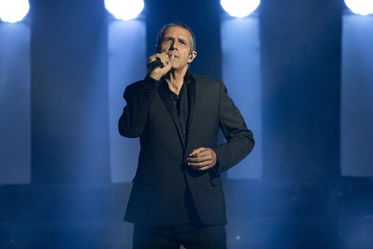 Julien Clerc en concert à Monaco en août 2015