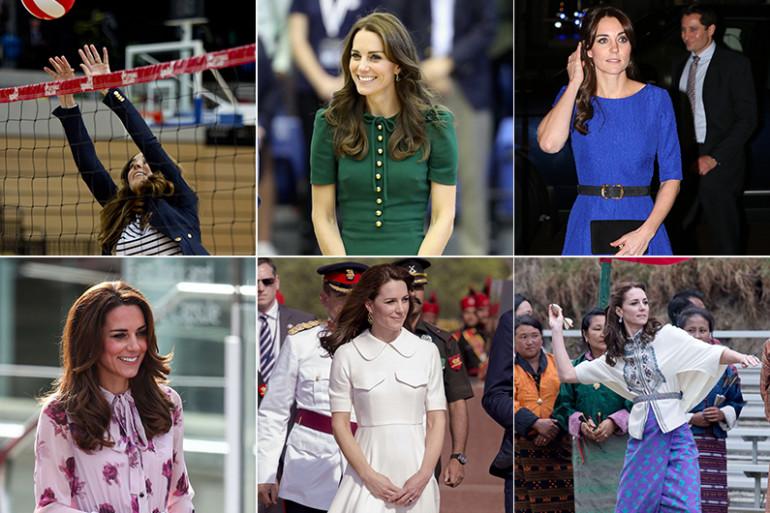 Kate Middleton sous toutes ses coutures