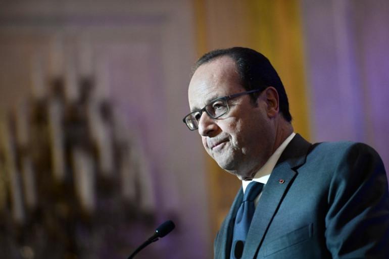 François Hollande le 6 octobre 2016 à Paris