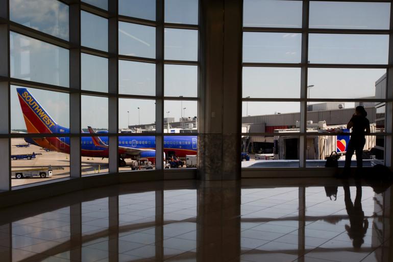 Un terminal d'aéroport (Illustration).