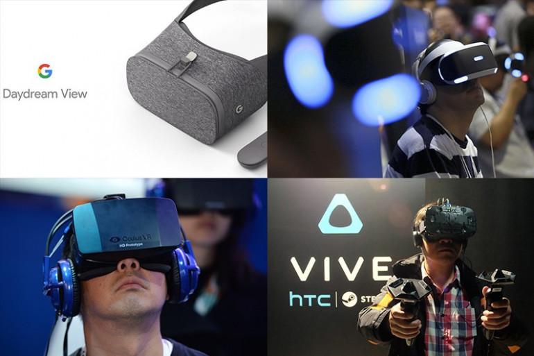 La bataille des casques de réalité virtuelle est lancée