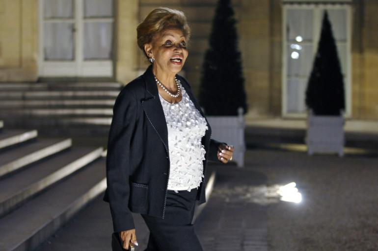 Lucette Michaux-Chevry à l'Élysée en 2009.