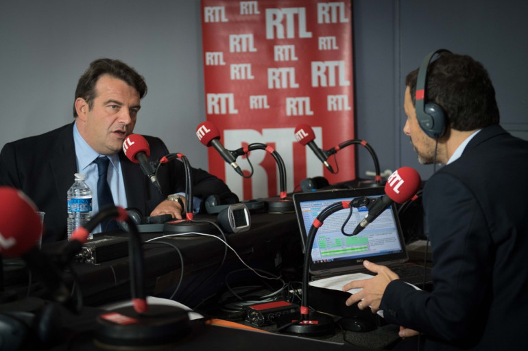 Thierry Solère, responsable de l'organisation de la primaire Les Républicains, le 13 octobre 2016