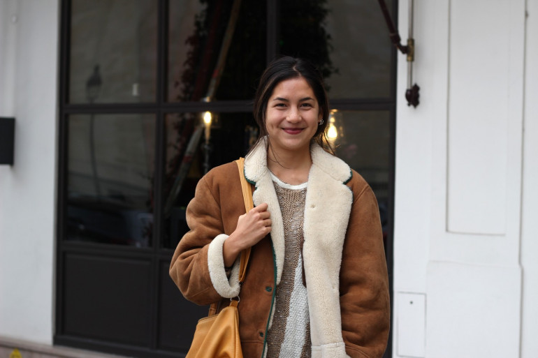 Line Papin, 20 ans, vient de publier son premier roman.