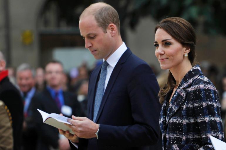 Prince William et Kate Middleton à Manchester le 14 octobre 2016