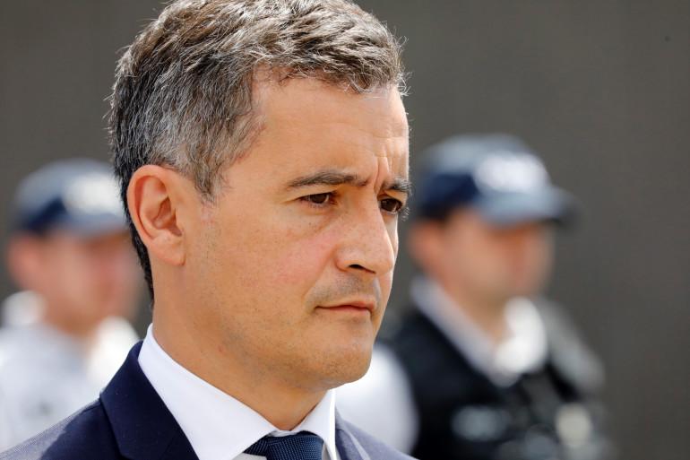Le ministre de l'Intérieur Gérald Darmanin