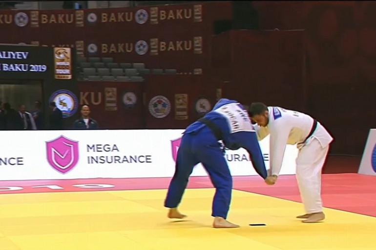 Deux judokas (illustration)