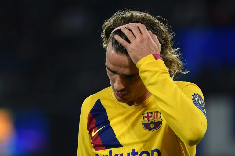 Antoine Griezmann avec le FC Barcelone le 25 février 2020