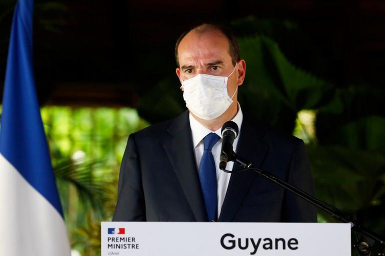 Jean Castex s'est rendu 8 heures en Guyane pour féliciter le plan de lutte contre le coronavirus du gouvernement.