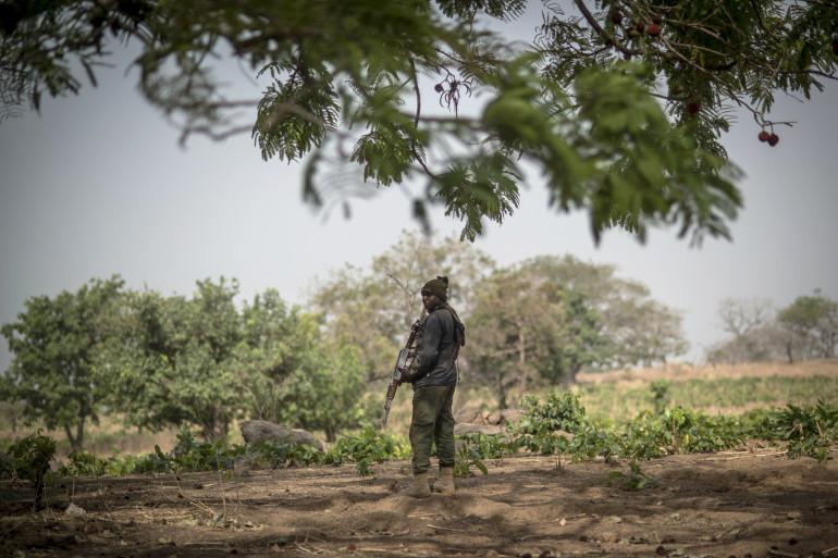 Un policier au Nigeria (illustration)