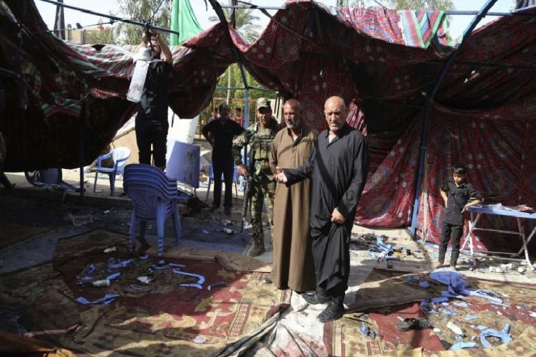 Un attentat terroriste à Bagdad fait 34 morts samedi 15 octobre
