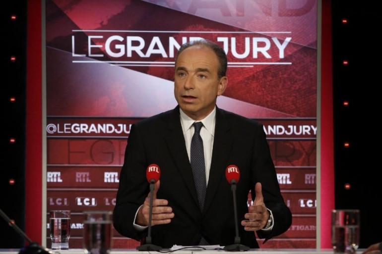 Jean-François Copé, le 16 octobre, sur le plateau du Grand Jury