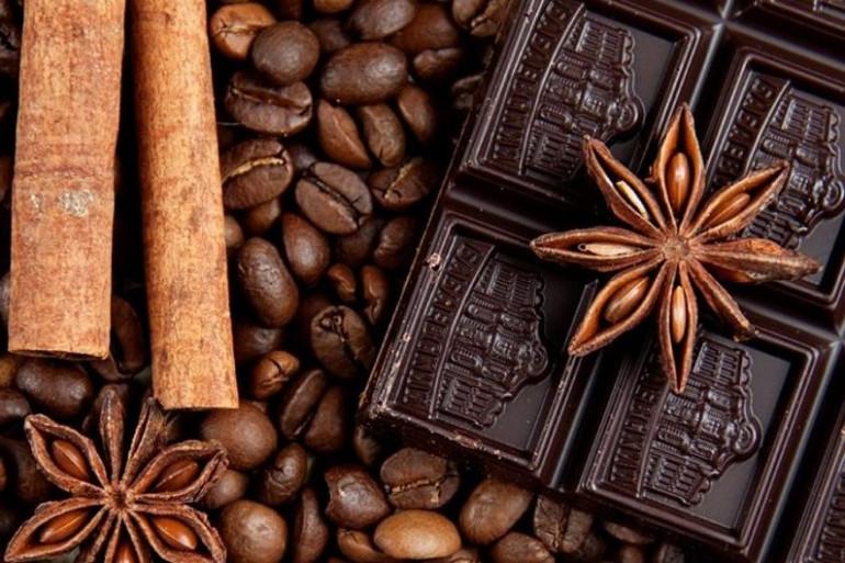 Du chocolat aux épices (illustration)