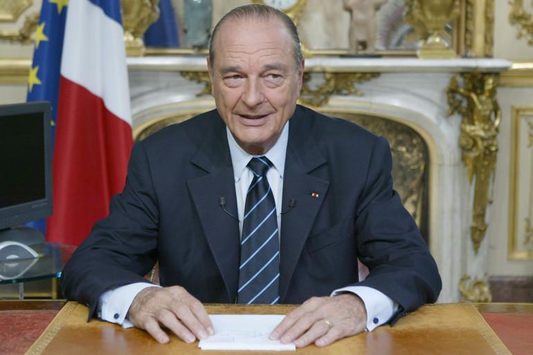 Jacques Chirac, le 14 juillet 2004