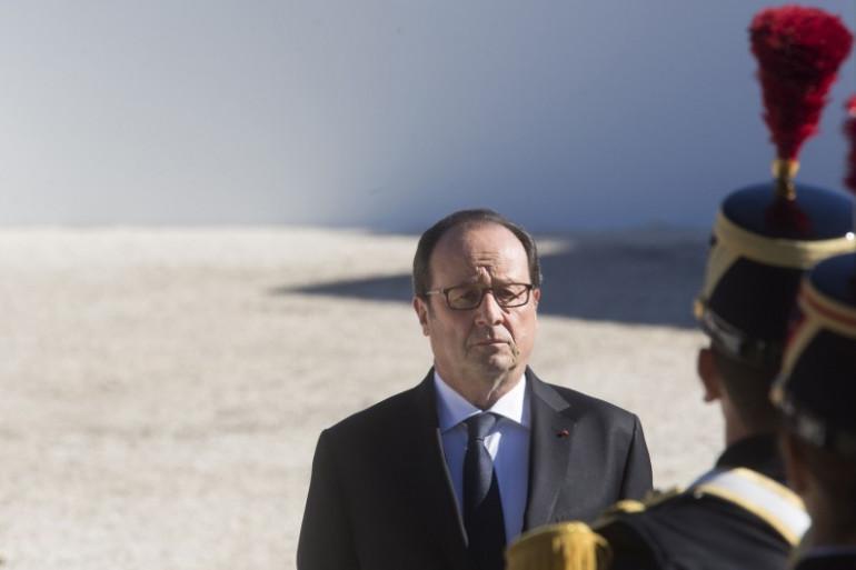 François Hollande le 15 octobre 2016 à Nice