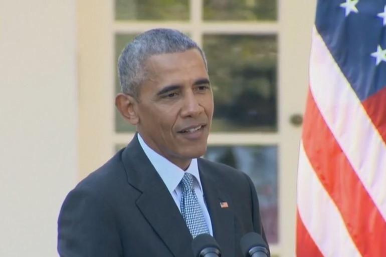 Barack Obama, le 18 octobre 2016