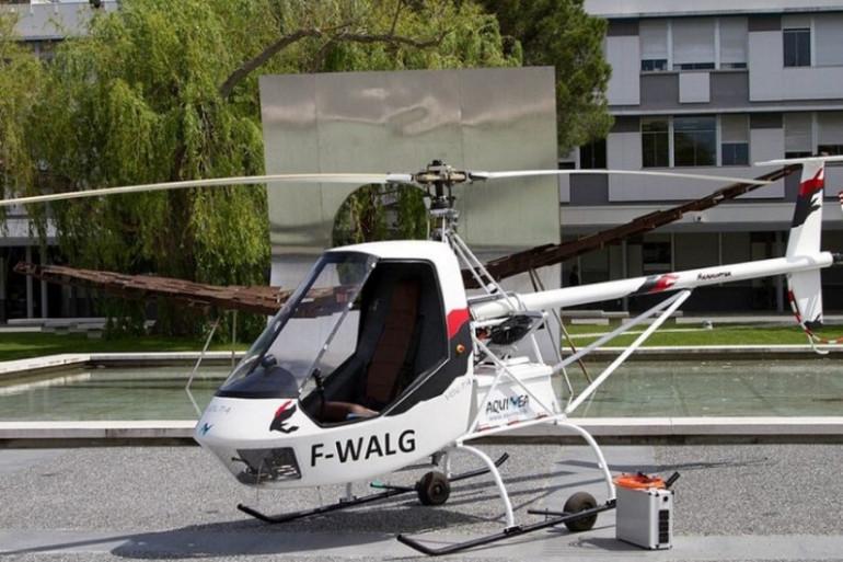Le Volta pourrait servir d'hélicoptère de formation pour les élèves de l'Enac