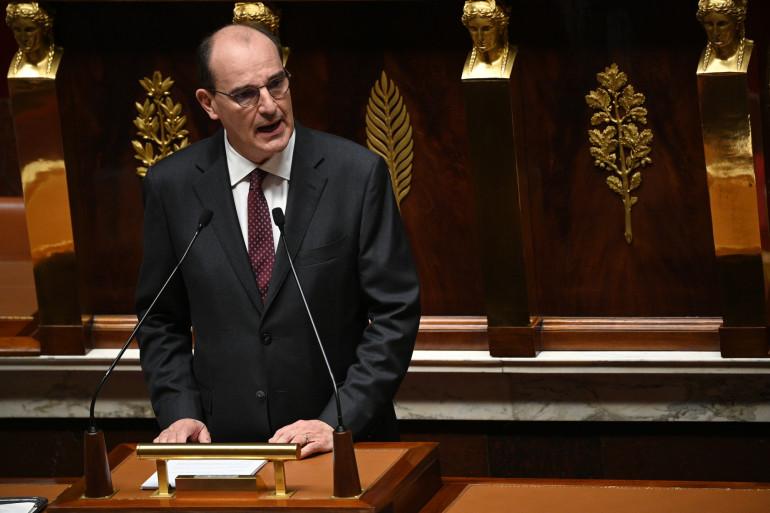 Jean Castex, le 15 juillet 2020, à l'Assemblée nationale