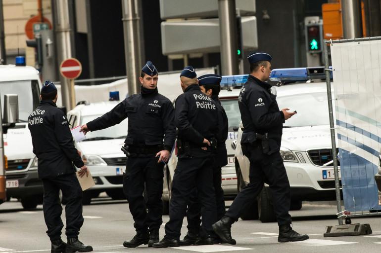 Une patrouille de police belge (illustration)