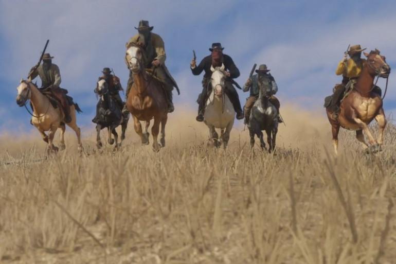"""Les premières images très cinématographiques de """"Red Dead Redemption 2"""""""
