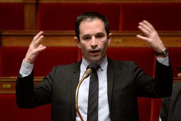 Benoît Hamon, candidat à la primaire de la gauche