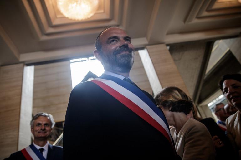 Édouard Philippe, au Havre le 5 juillet 2020