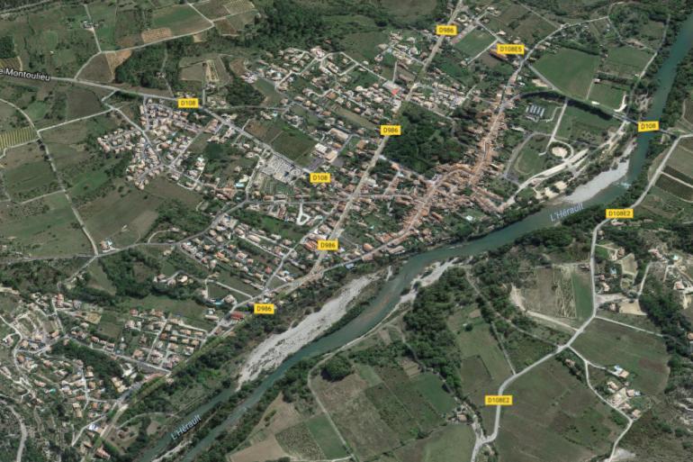 La commune de Saint-Bauzille-de-Putois, dans l'Hérault (illustration)